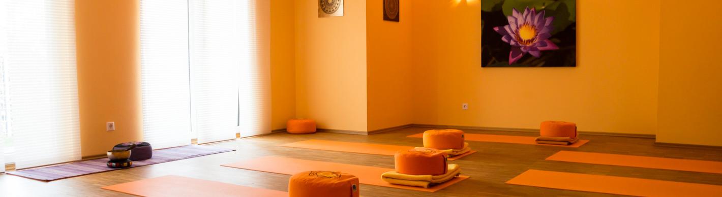 Einklang-Team Yogaraum